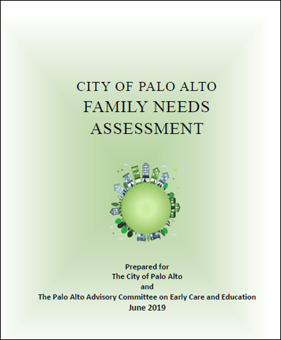City of Palo Alto Family Needs Assessment cover
